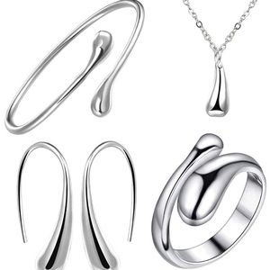 Pandora sterling silver raindrop bundle
